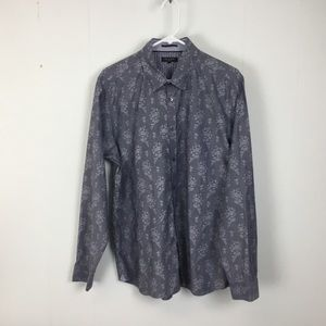 Ted Baker mens grey dress shirt